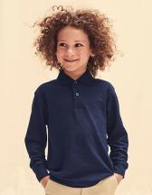 Kids´ Long Sleeve 65/35 Polo